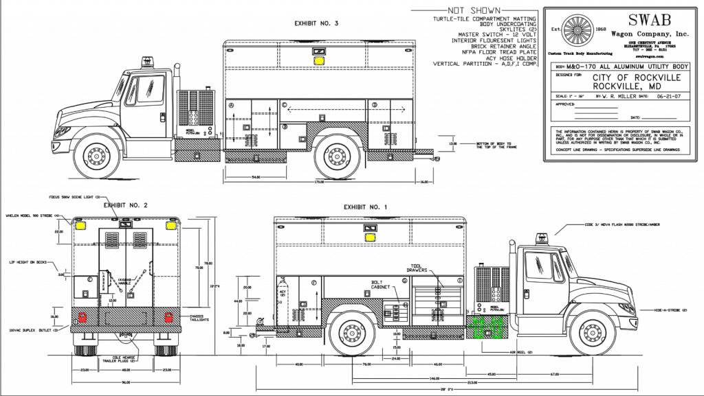 City of Rockville Utility Body M&O Series