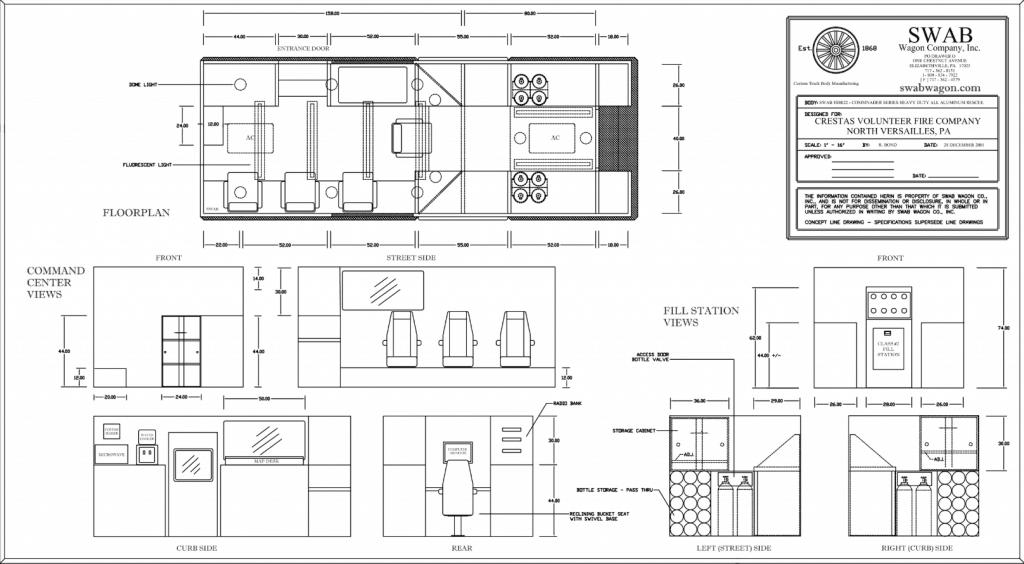 Crestas VFC Rescue Interior