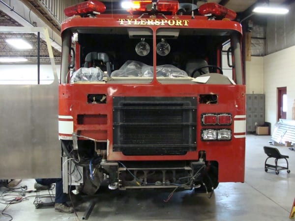 Before_Tylersport Volunteer Fire Company Tylersport, PA