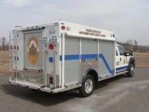 Montgomery County DA Police Delivery