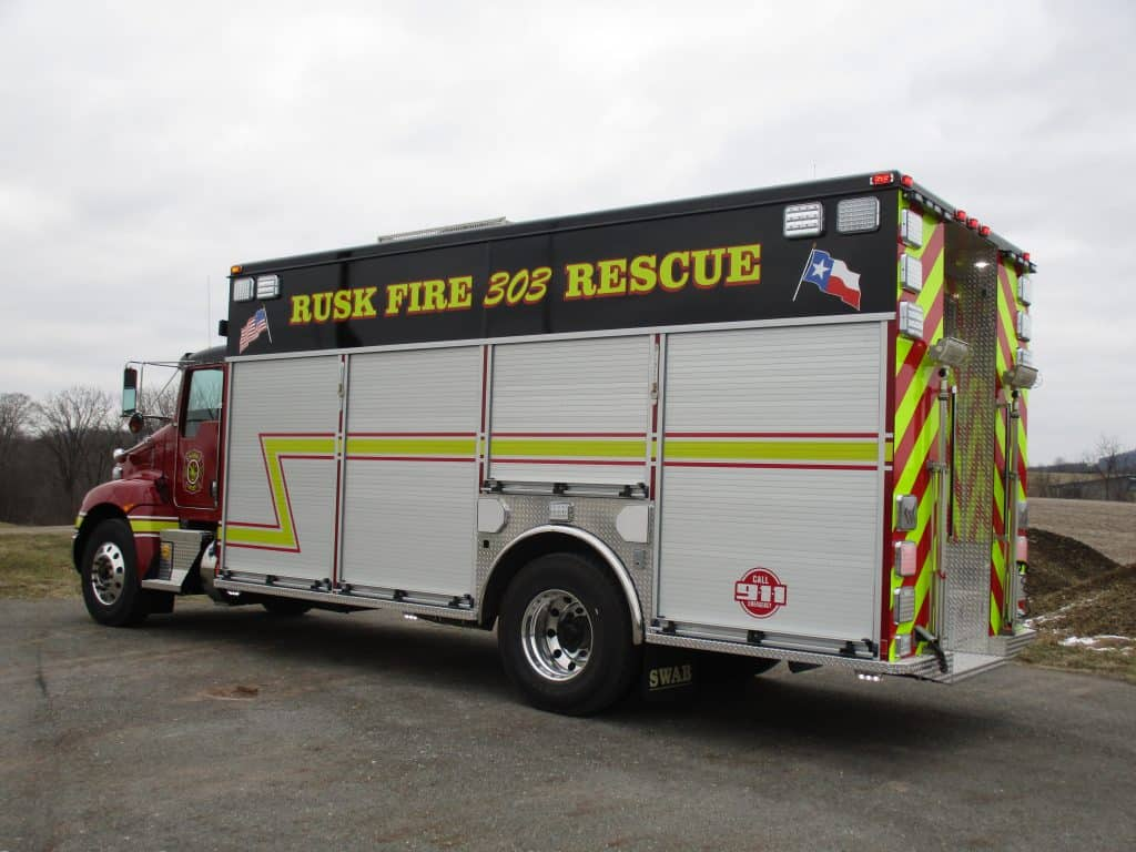 Rusk FD Commander Delivery