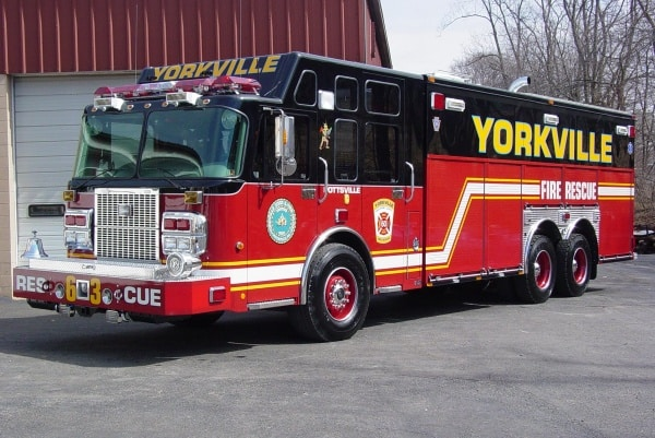 Yorkville Fire Rescue Commander Delivery