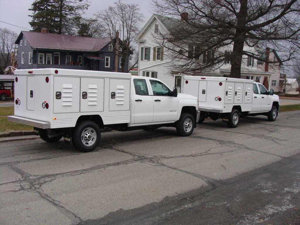 Ottawa County Animal Control Trucks